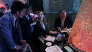 Gøril har frokostmøte med Japans største energiselskap