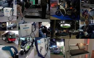 Collage av bilder fra EVS27